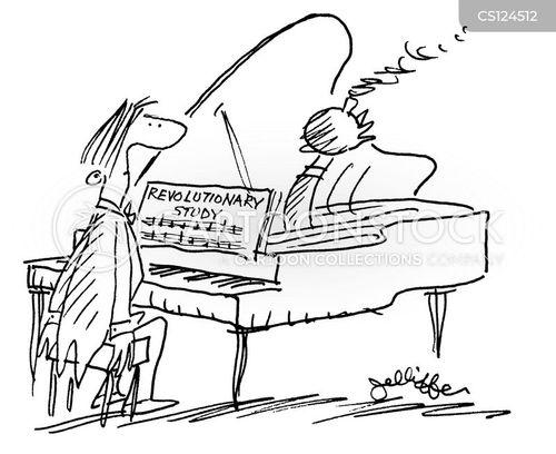chopin cartoon