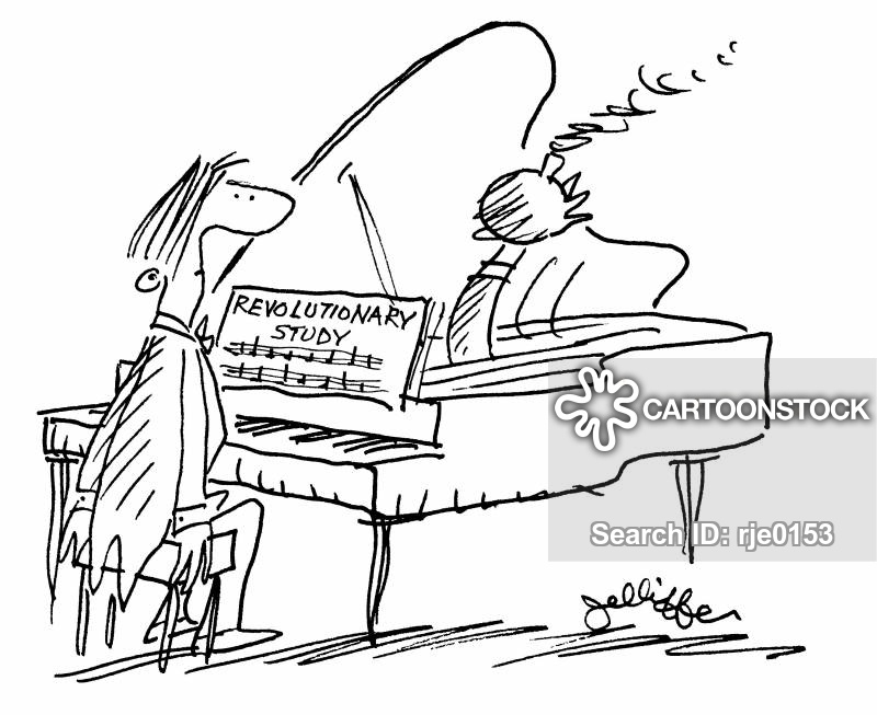 Grand Piano Cartoon Black And White Grande Piano Cartoon 1 of 1
