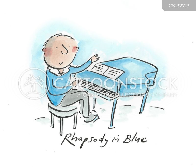 rhapsody in blue cartoon
