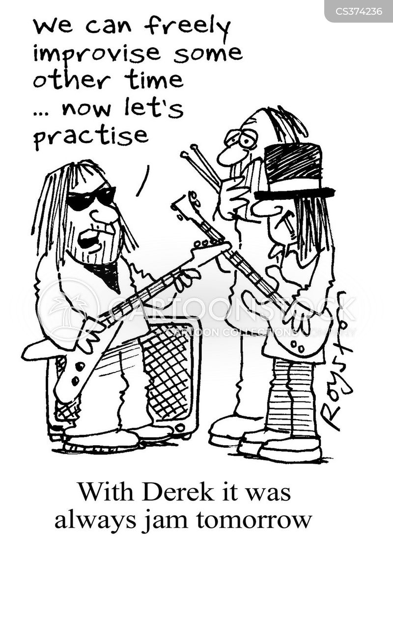 band practise cartoon