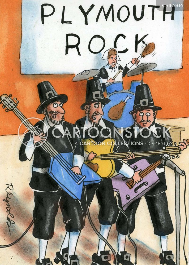 rock bands cartoon