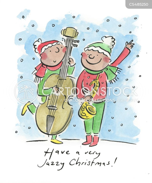 saxophonists cartoon
