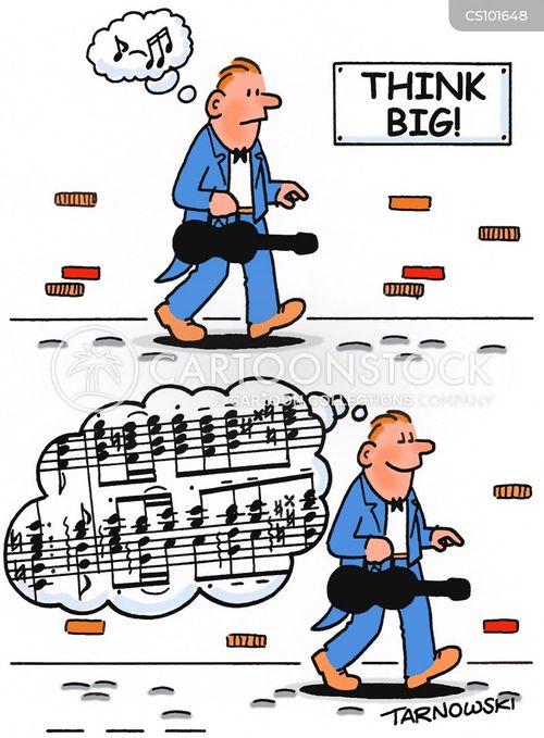 thinking big cartoon