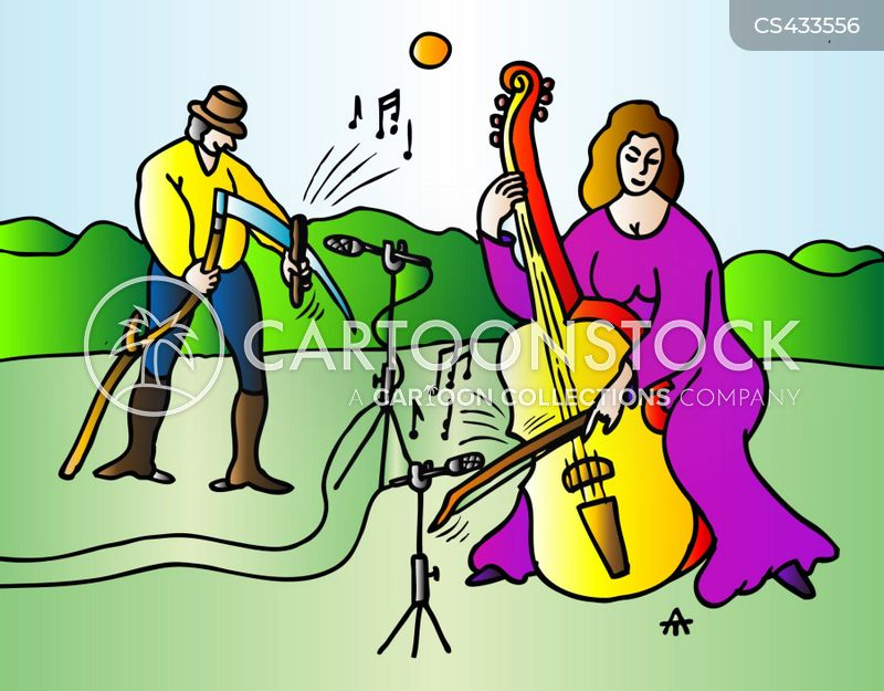 outdoor concerts cartoon