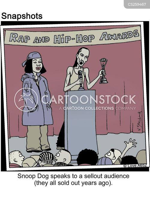 awards show cartoon