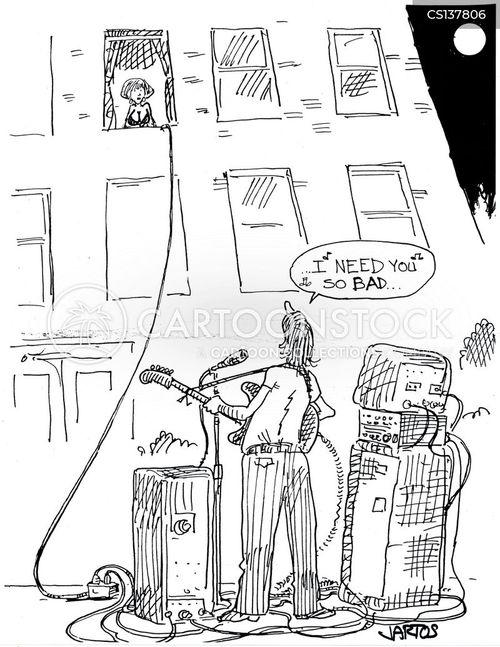 amplifier cartoon