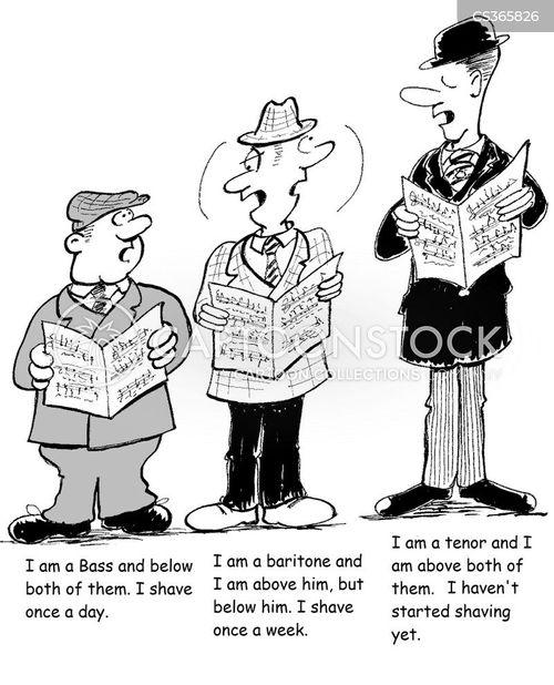 choir practice cartoon