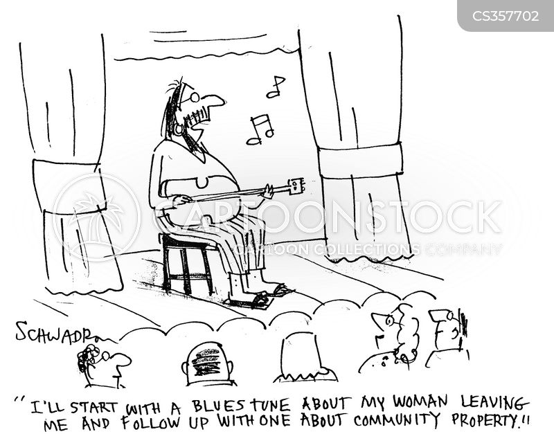guitar playing cartoon