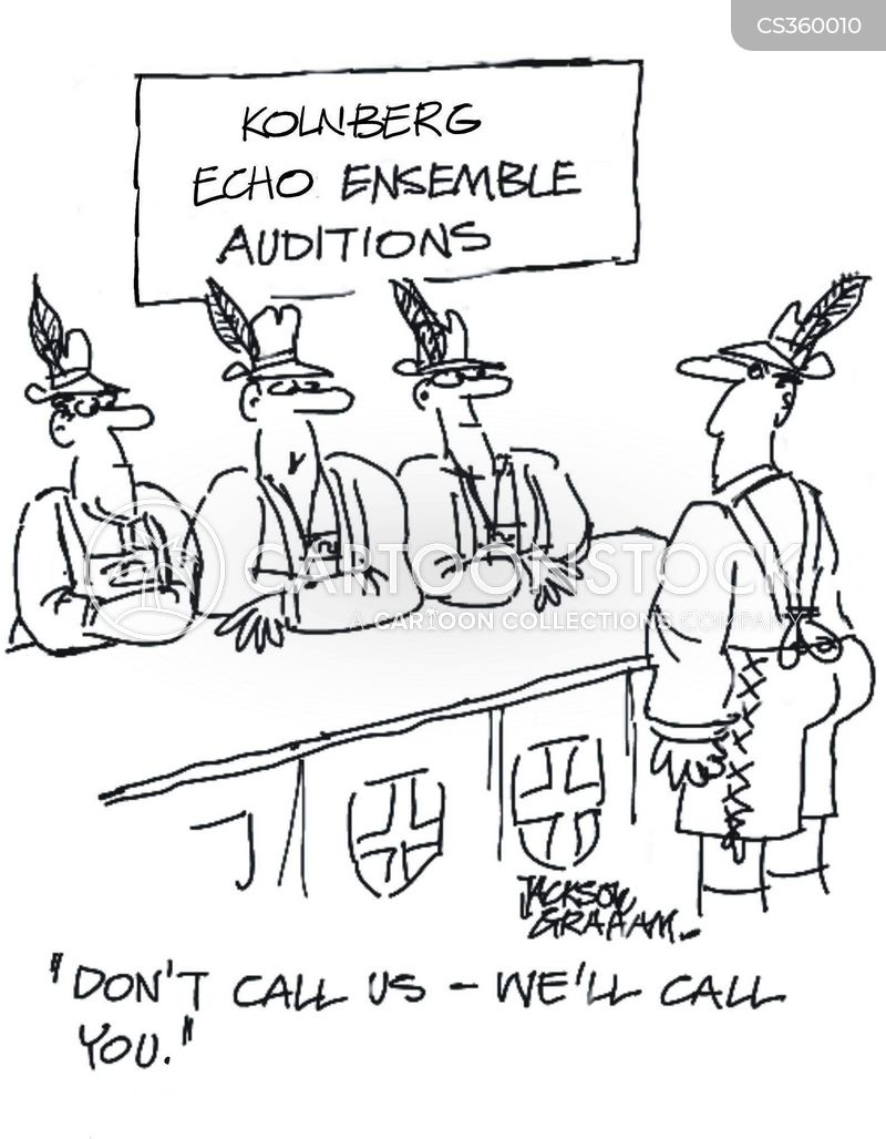 ensemble cartoon