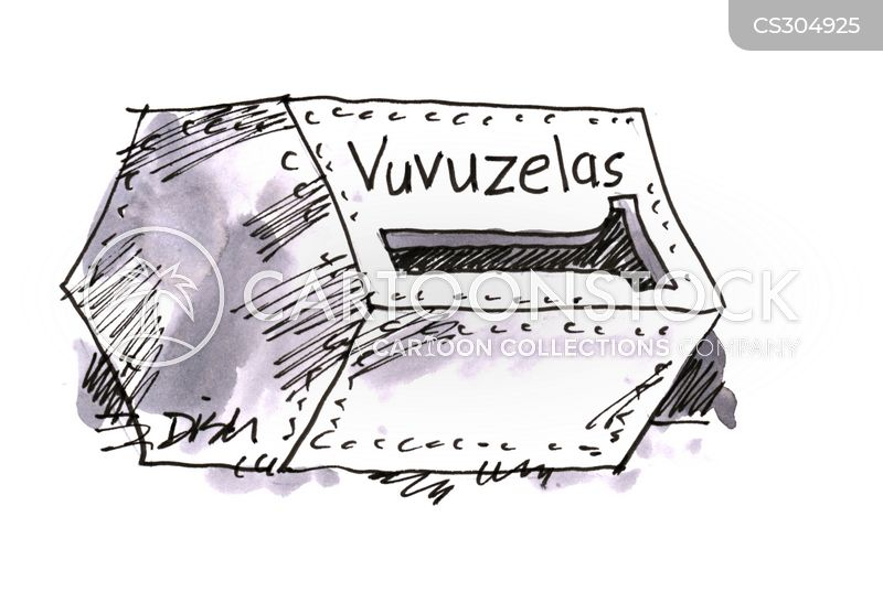 vuvuzela cartoon