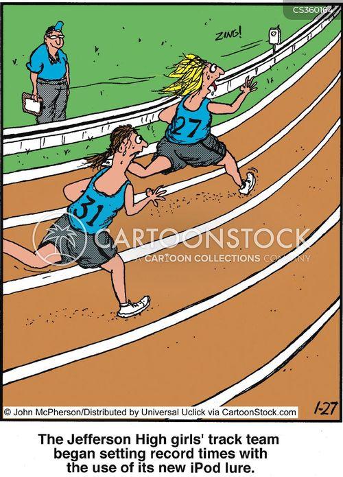 sprinted cartoon