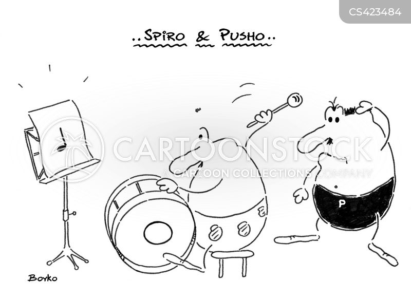 band practices cartoon