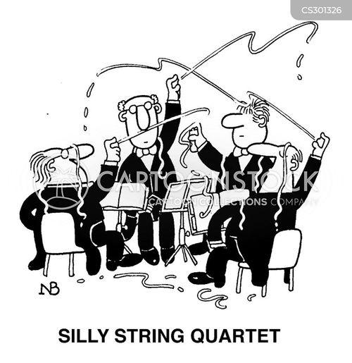 silly string cartoon