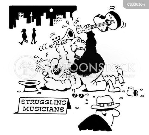 street fights cartoon