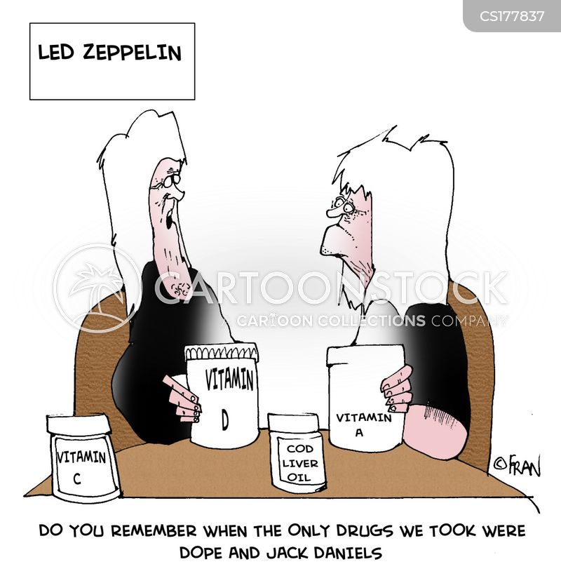 taking drugs cartoon