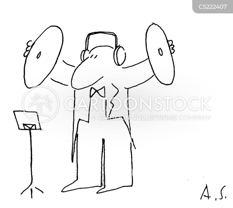 head phones cartoon