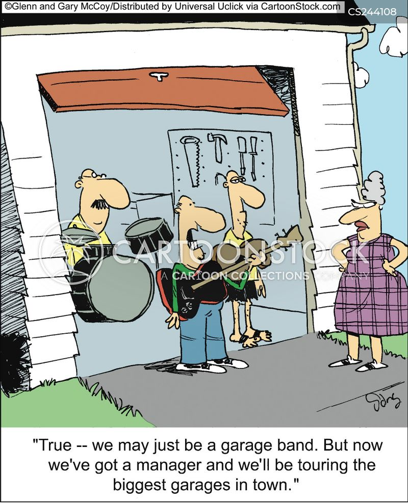 Garage Band Cartoons And Comics Funny Pictures From