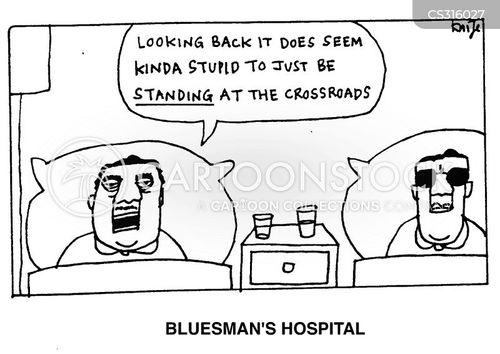 the blues cartoon