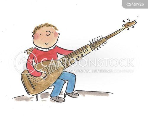 early music cartoon