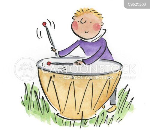 kettle drum cartoon