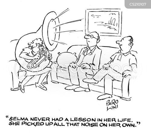 bad musician cartoon