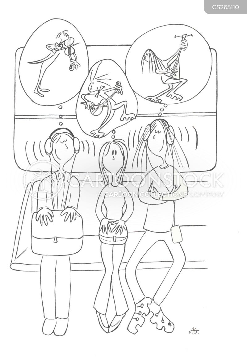 walkmans cartoon