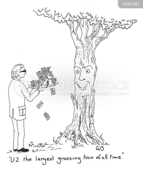 woodlands cartoon