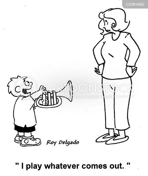 skillful cartoon