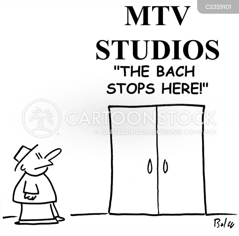 Music Channels Cartoons and Comics - funny pictures from CartoonStock