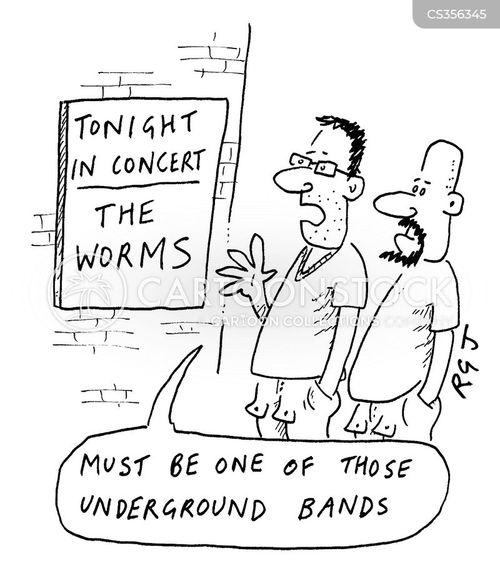 alternative music cartoon