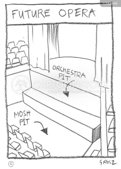 mosh pits cartoon