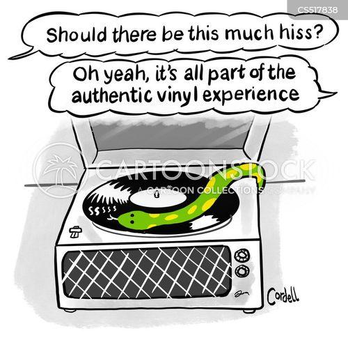 vinyls cartoon