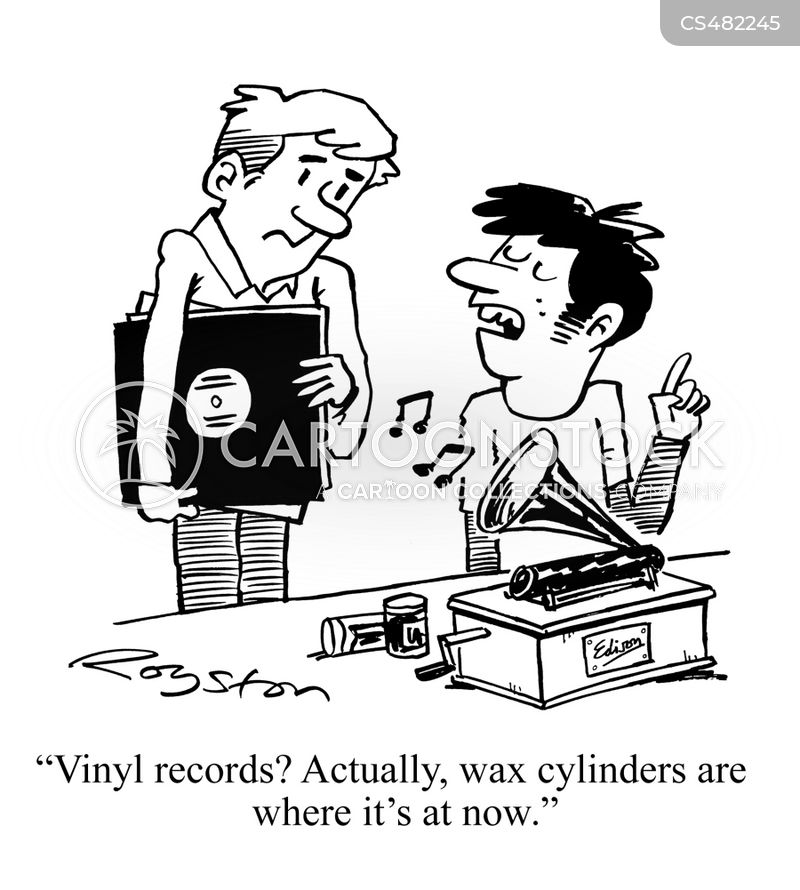 vinyls cartoon