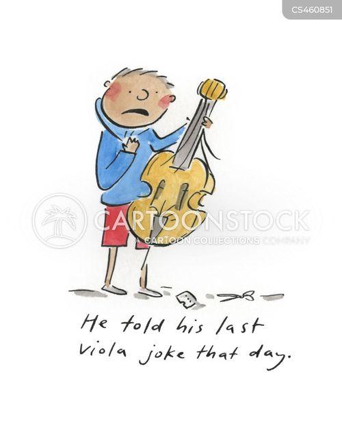 viola cartoon