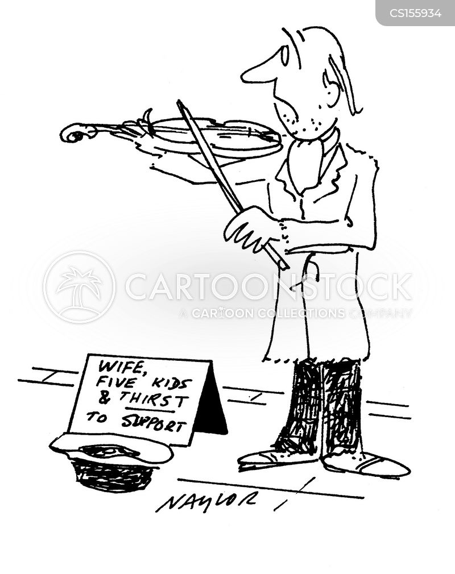 busked cartoon