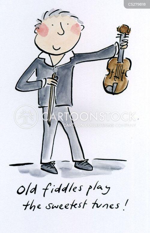 string instrument cartoon