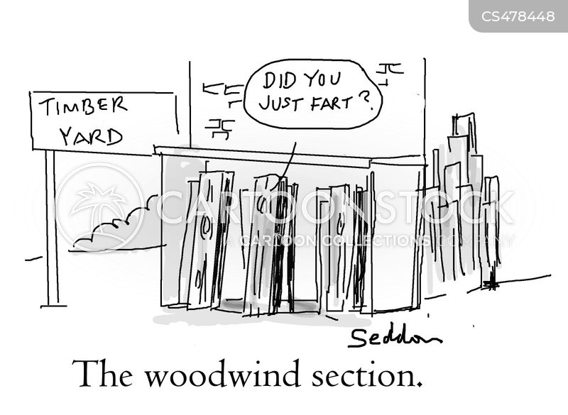 woodwind cartoon