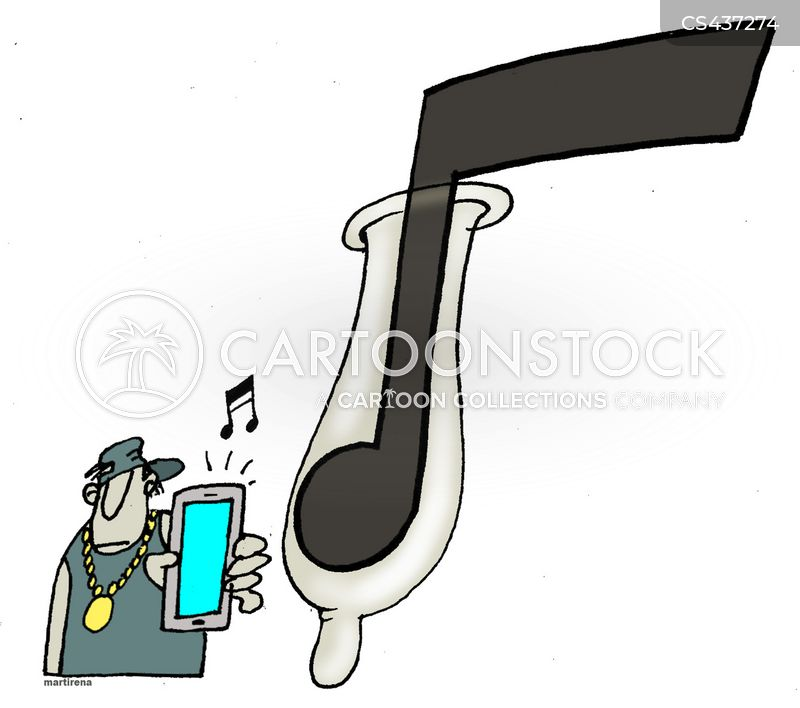 popular music cartoon