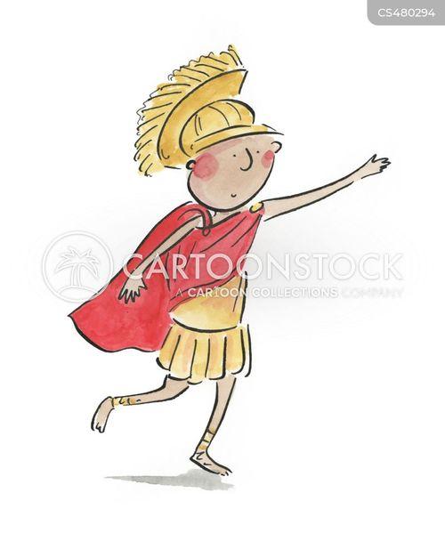greco-roman cartoon