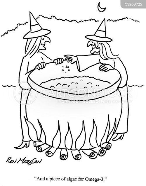 omega 3 cartoon
