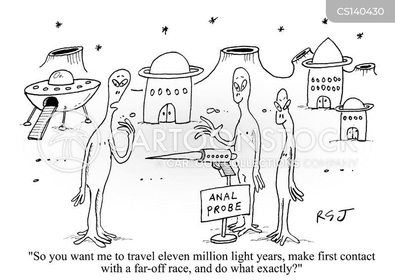 alien planets cartoon