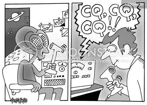 radio controllers cartoon