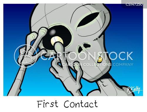 alien invader cartoon