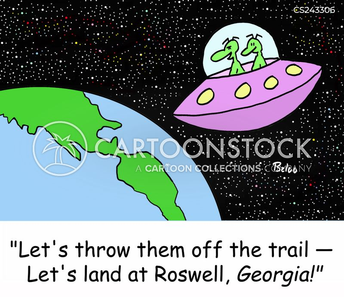 ufo sightings cartoon