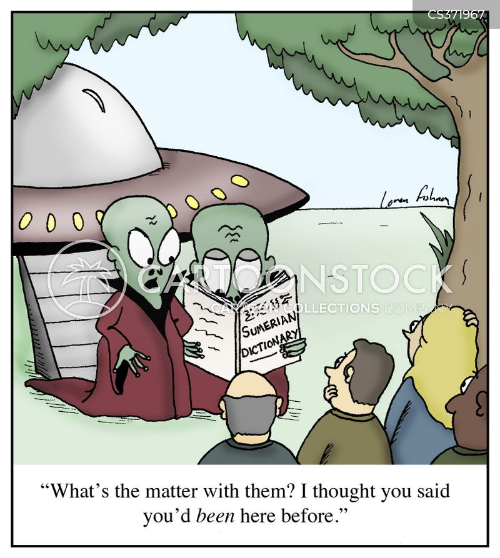 Ancient Alien Cartoons Cartoon Funny Picture