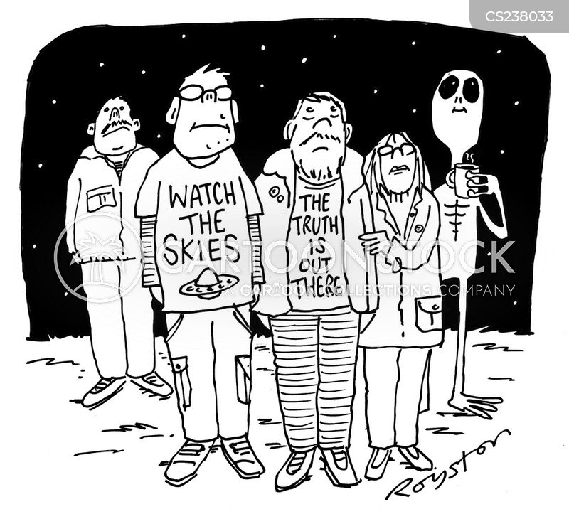 truth is out there cartoon
