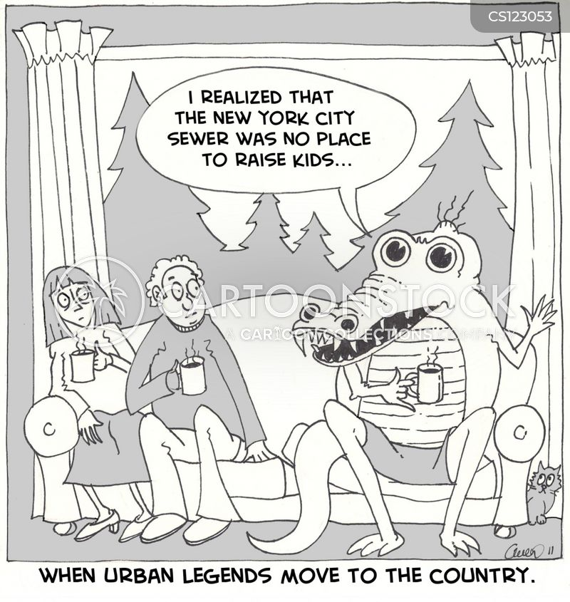 urban legends cartoon
