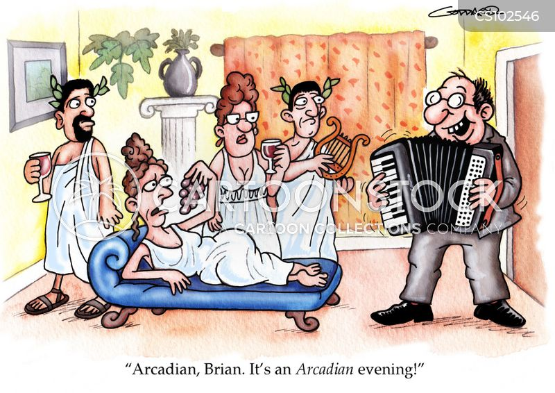 arcadian cartoon