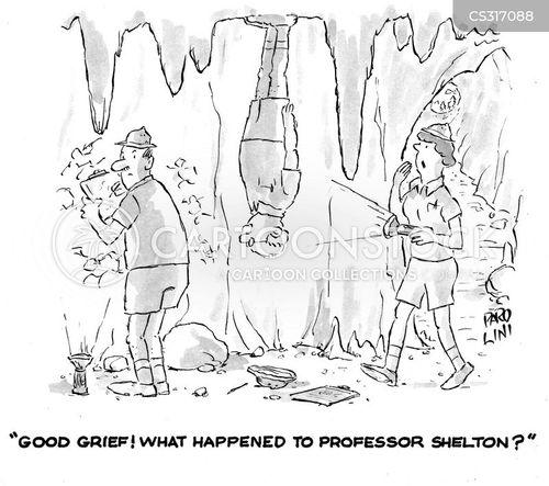 prof cartoon