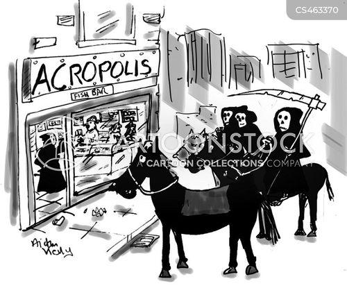 acropolis cartoon